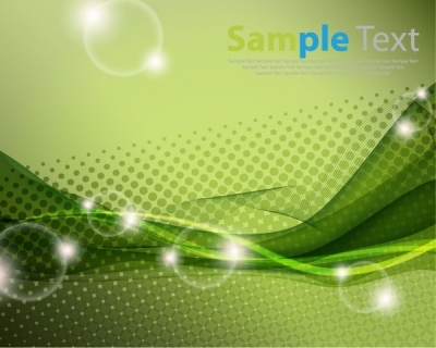 Free vector Vector abstract  Green Abstract Vector Background