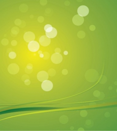Free vector Vector abstract  Green Bokeh Abstract Light Background Vector Graphic