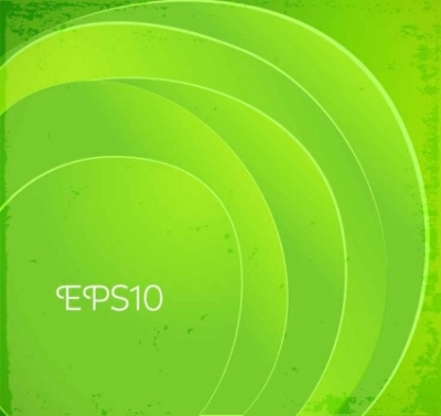 Free vector Vector background  Green circle labels vector background