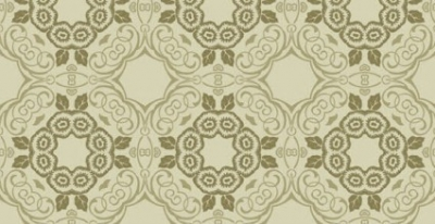 Free vector Vector floral  Green floral seamless wallpaper