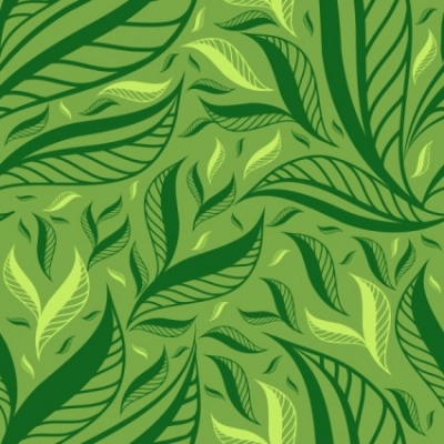 Free vector Vector background  green leaf background 01 vector