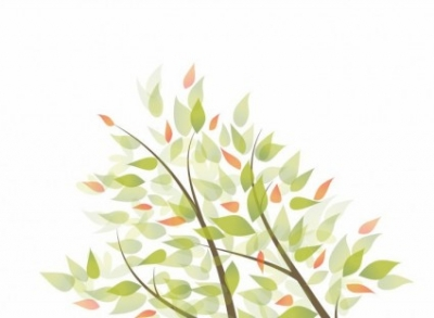 Free vector Vector background  Green Leaves Vector Graphic Background