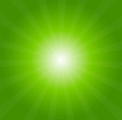 Free vector Vector background  Green Light Burst Abstract Background