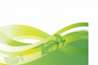 Free vector Vector background  Green Nature Background