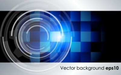Free vector Vector background  Grey Blue Tech Background