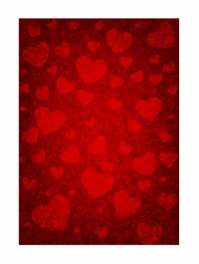 Free vector Vector Heart  grunge background with hearts