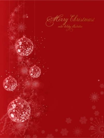 Free vector Vector misc  Grunge Christmas background