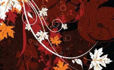 Free vector Vector floral  Grungy Floral Background