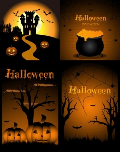 Free vector Vector misc  halloween design elements vector