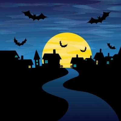 Free vector Vector misc  Halloween Night Vector