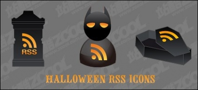 Free vector Vector icon  Halloween rss icon vector material
