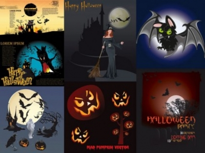 Free vector Vector misc  halloween theme vector amendment
