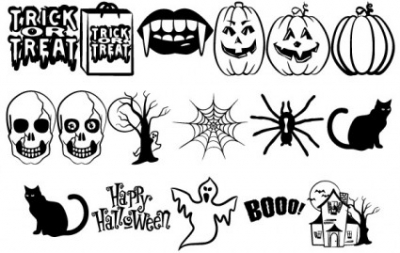 Free vector Vector misc  Halloween Vectors Part 2