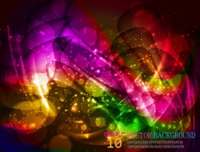 Free vector Vector background  halo bright background 05 vector