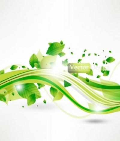 Free vector Vector background  halo leaves background 04 vector