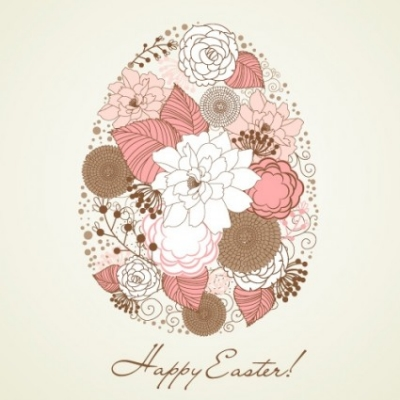 Free vector Vector pattern  handpainted easter pattern 04 vector