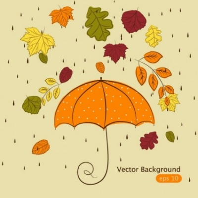 Free vector Vector background  handpainted maple leaf background 02 vector