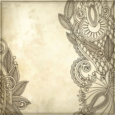 Free vector Vector background  handpainted pattern background 01 vector