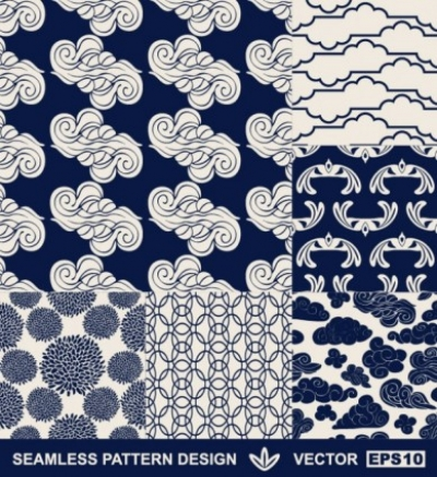 Free vector Vector background  handpainted pattern background 02 vector