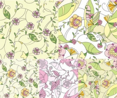 Free vector Vector pattern  handpainted pattern vector fashion