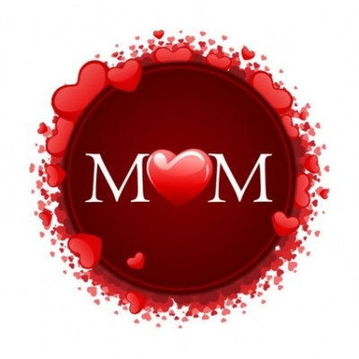 Free vector Vector Heart  Happy Mother's Day with Hearts