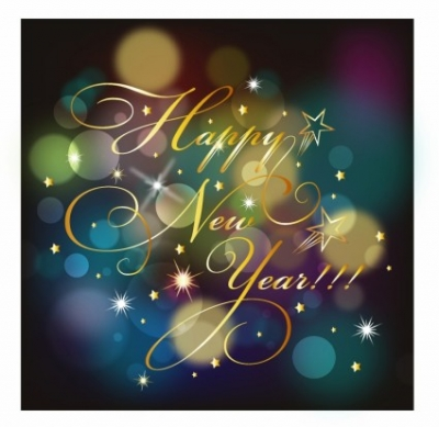 Free vector Vector background  Happy New year background