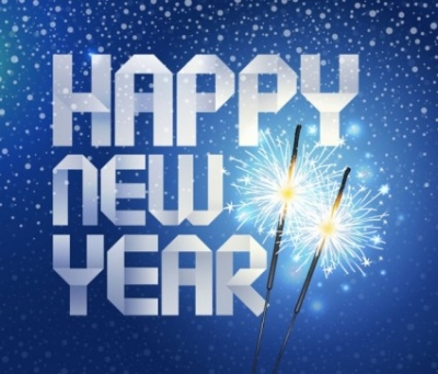 Free vector Vector background  happy new year origami background vector