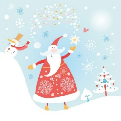 Free vector Vector misc  happy santa claus vector