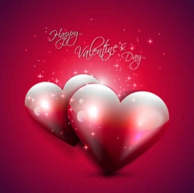 Free vector Vector background  Happy Valentine's Day Red Backgrounds