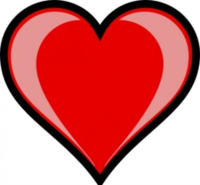 Free vector Vector clip art  Heart Highlight clip art