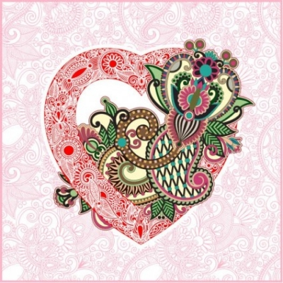 Free vector Vector Heart  heartshaped valentine39s day card 02 vector