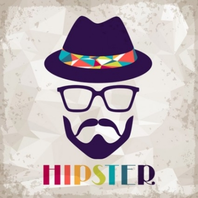 Free vector Vector background  hipster retro background vector