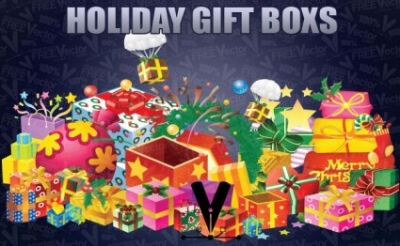 Free vector Vector misc  Holiday Gift Boxes