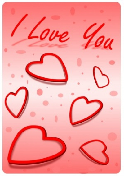 Free vector Vector clip art  I Love You