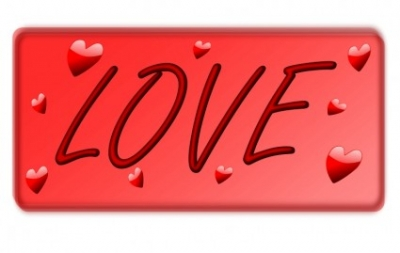 Free vector Vector clip art  I Love You 3