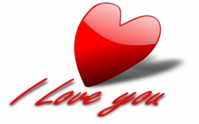 Free vector Vector clip art  I Love You 5