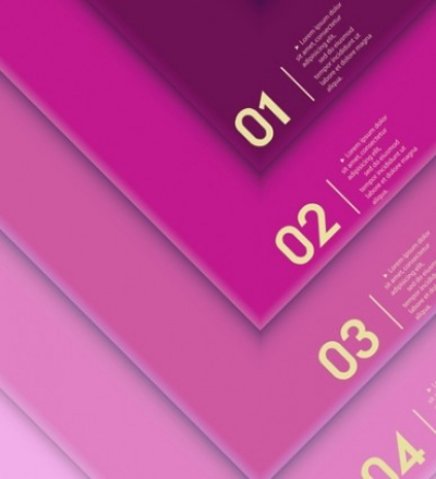 Free vector Vector background  Infographic fashion colors vector