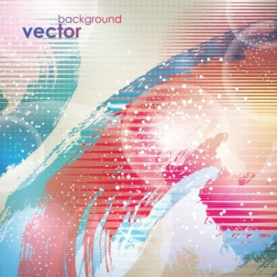 Free vector Vector background  ink strokes vector background