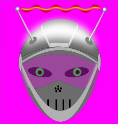 Free vector Vector clip art  Iron woman