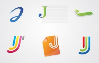 Free vector Vector misc  Jay Letter Logo Pack
