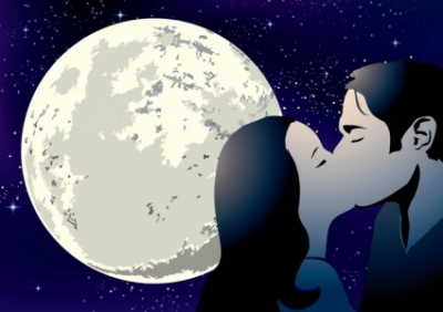 Free vector Vector misc  Kissing Couple Vector
