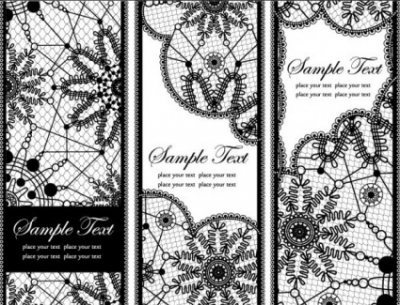 Free vector Vector background  lace pattern background 02 vector
