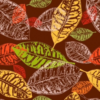 Free vector Vector background  leaves background 01 vector