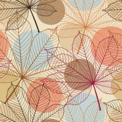 Free vector Vector background  Leaves background