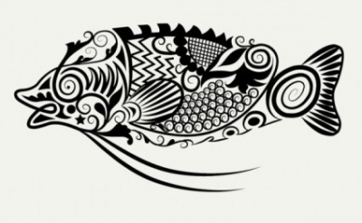 Free vector Vector pattern  line art animal pattern 06 vector