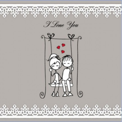 Free vector Vector Heart  lines issued on valentine39s day illustrations 05 vector