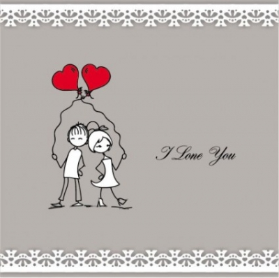 Free vector Vector Heart  lines issued on valentine39s day illustrations 06 vector