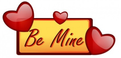 Free vector Vector clip art  Love   Be Mine