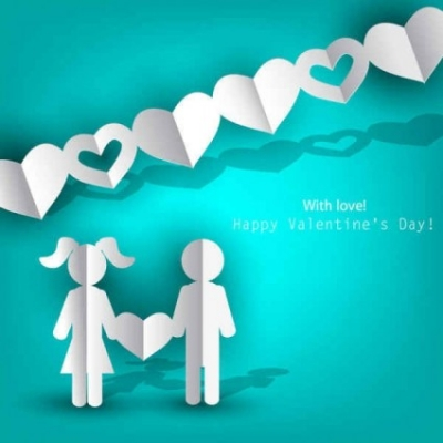 Free vector Vector background  Love Happy Valentine's Day Vector Images