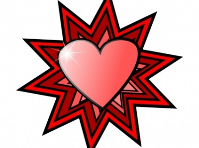 Free vector Vector clip art  Love Heart